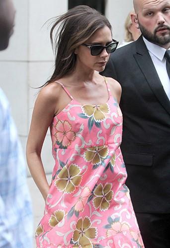 Victoria Beckham à New York le 8 septembre 2014
