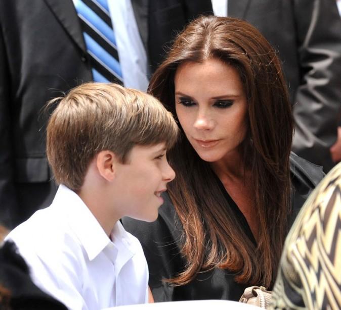 Superbe, avec son fils Brooklyn