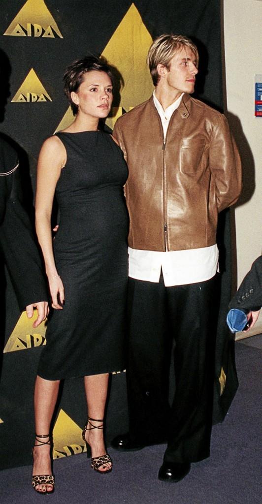 Victoria Beckham enceinte : sa première grossesse en Janvier 1999