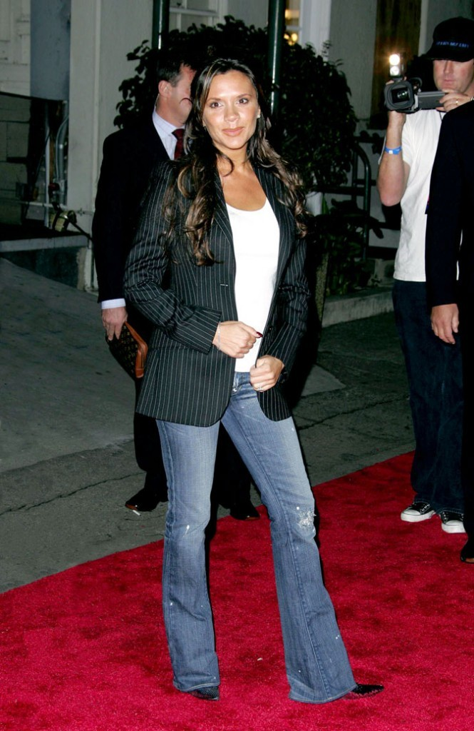 Victoria Beckham enceinte : sa troisième grossesse enoctobre 2004