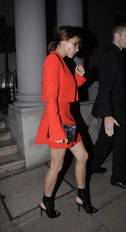 Victoria Beckham le 28 novembre 20012 à Londres