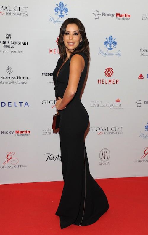 Eva Longoria au Global Gift Gala à Londres, le 17 novembre 2014