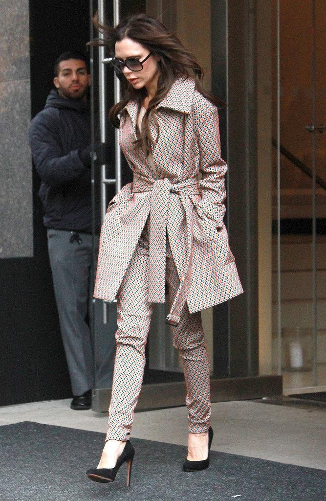 Photos : Victoria Beckham : finis les talons, elle passe aux baskets !