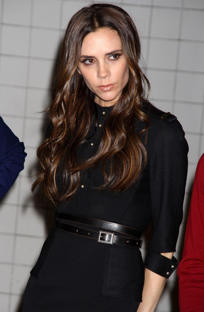 Pas très en forme, Victoria Beckham!