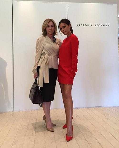 """Photos : Victoria Beckham : inauguration VIP avec sa """"meilleure amie"""", Harper !"""