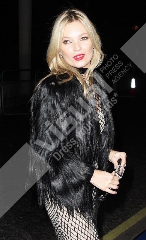 Kate Moss lors de la soirée des British Fashion Awards à Londres, le 28 novembre 2011.