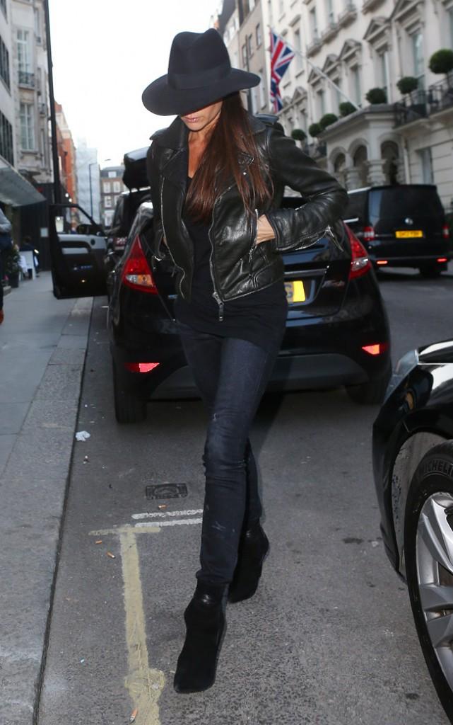 Victoria Beckham à Londres le 22 septembre 2014