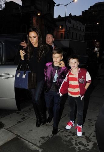 Victoria Beckham, maman avant tout