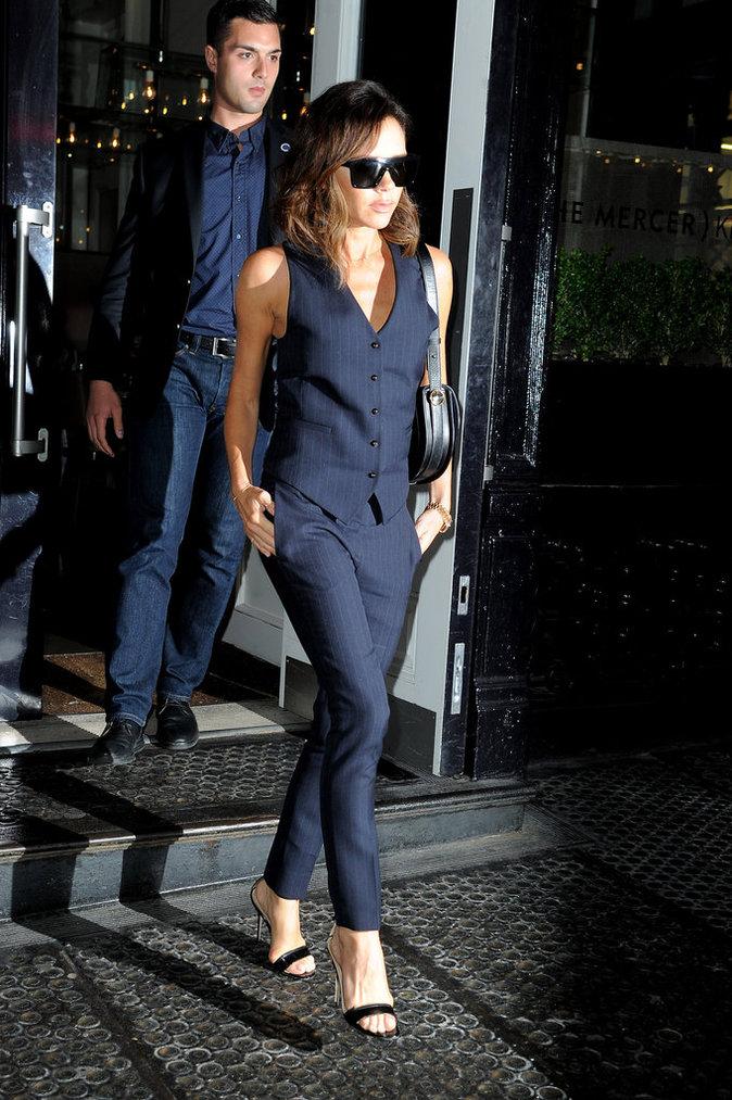 Victoria Beckham est devenue une businesswoman