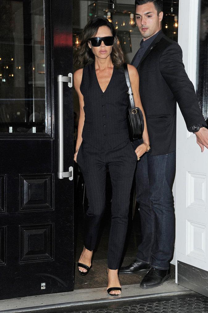 Victoria Beckham est sexy et stylée