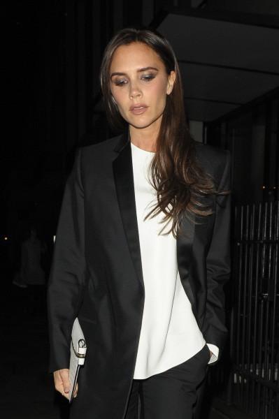 Victoria Beckham à Londres, le 18 novembre 2013.