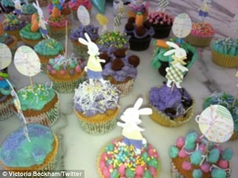 Les fameux cupcakes de la star!