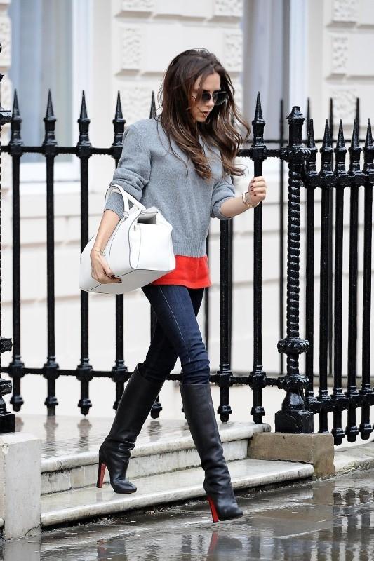 Victoria Beckham à Londres, le 1er février 2013.