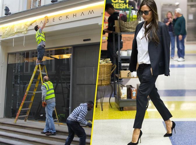 Victoria Beckham : que fait-elle � New York alors que sa boutique ouvre � Londres ?