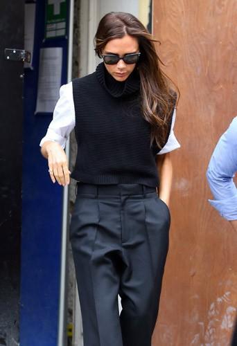 Victoria Beckham : retour au travail � Londres, la busy-girl s'affaire pour l'ouverture de sa boutique !