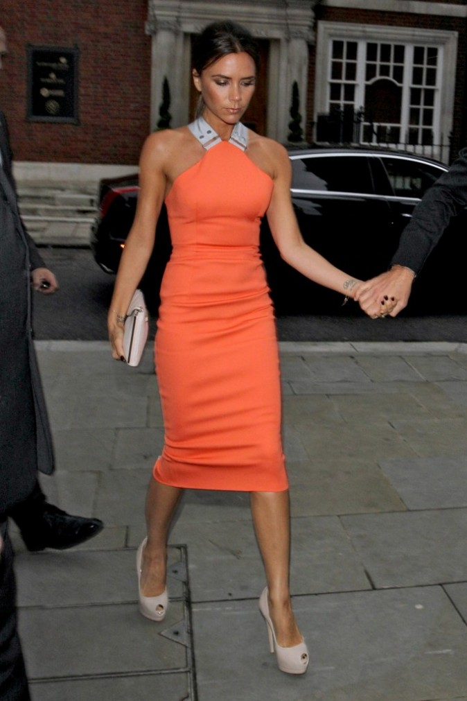 Victoria Beckham à Londres, le 9 juillet 2012.