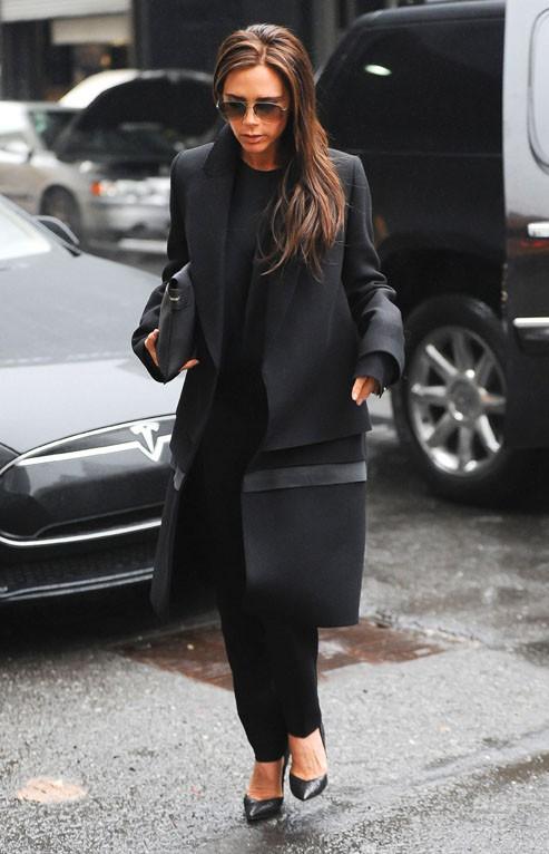 Victoria Beckham à New-York le 10 janvier 2014
