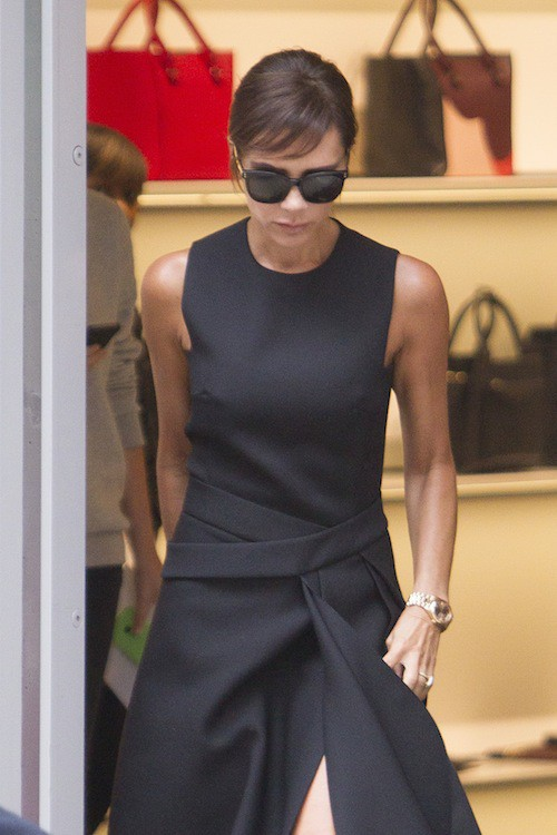 Photos : Victoria Beckham toujours plus chic, elle est prête pour la Fashion Week !