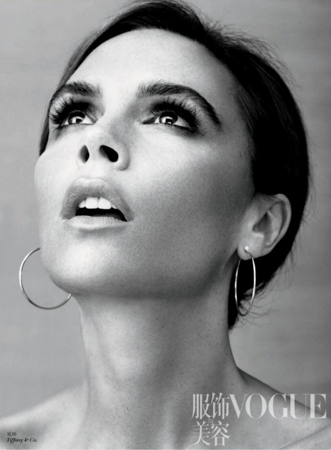 Victoria Beckham prend la pose pour Vogue Chine