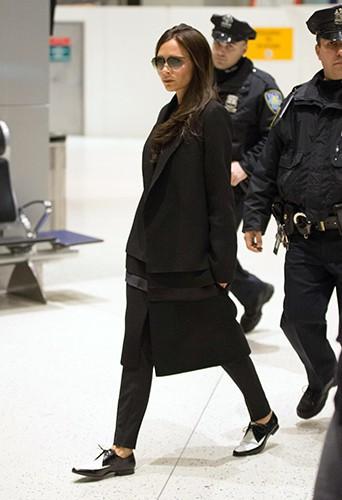 Victoria Beckham à New-York le 11 février 2014