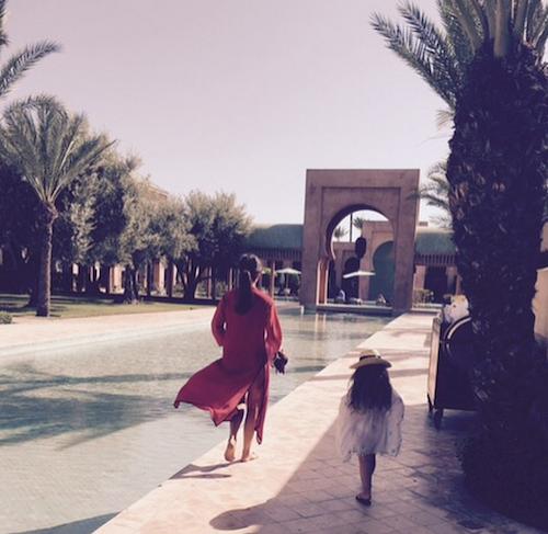 Photos : Victoria et David Beckham, trop dure la vie à Marrakech !