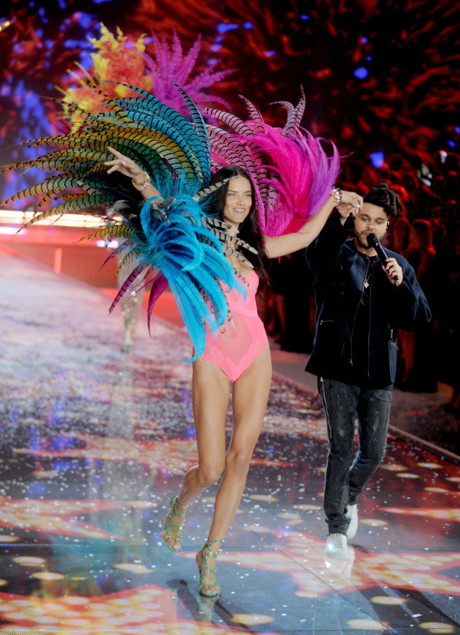 The Weeknd au défiilé Victoria's Secret organisé à New-York le 10 novembre 2015