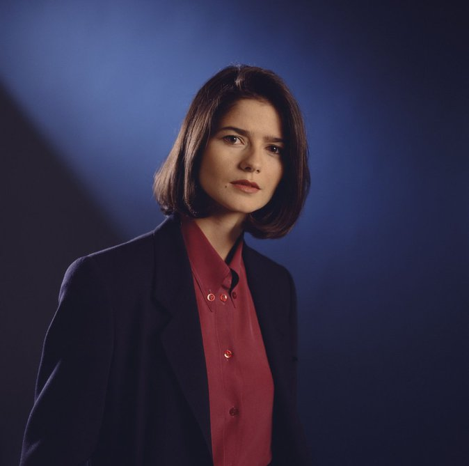 "Jill Hennessy dans ""New York police judiciaire"""