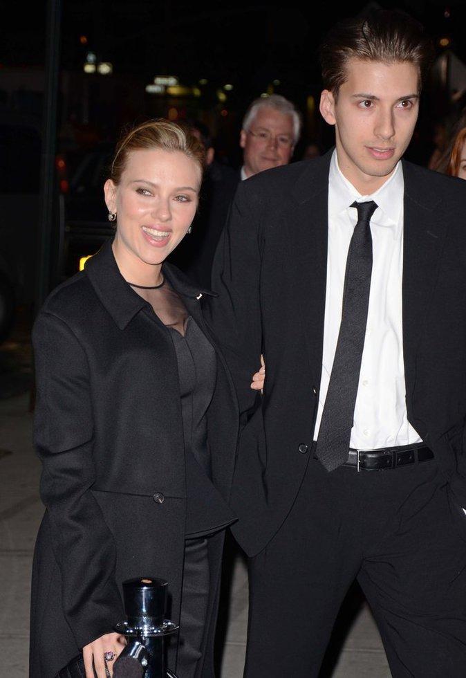 Scarlett Johansson et son jumeau