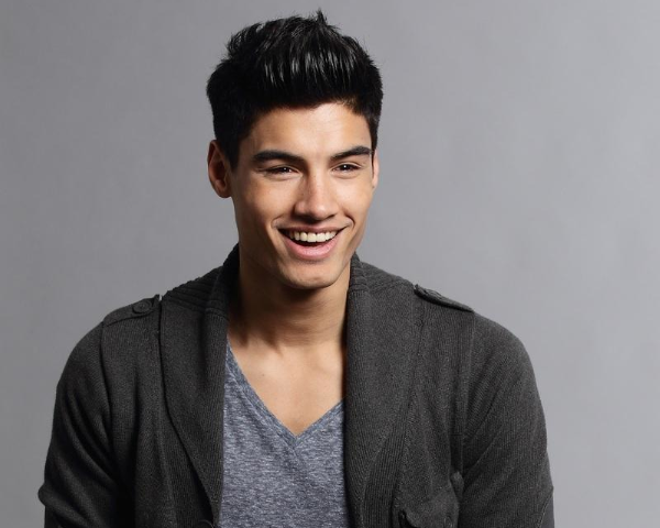 Siva Kaneswaran du groupe The Wanted