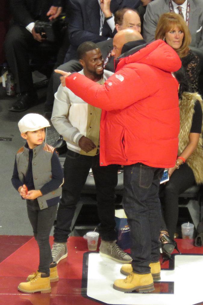 Vin Diesel a passé du temps avec ses amis et son fils