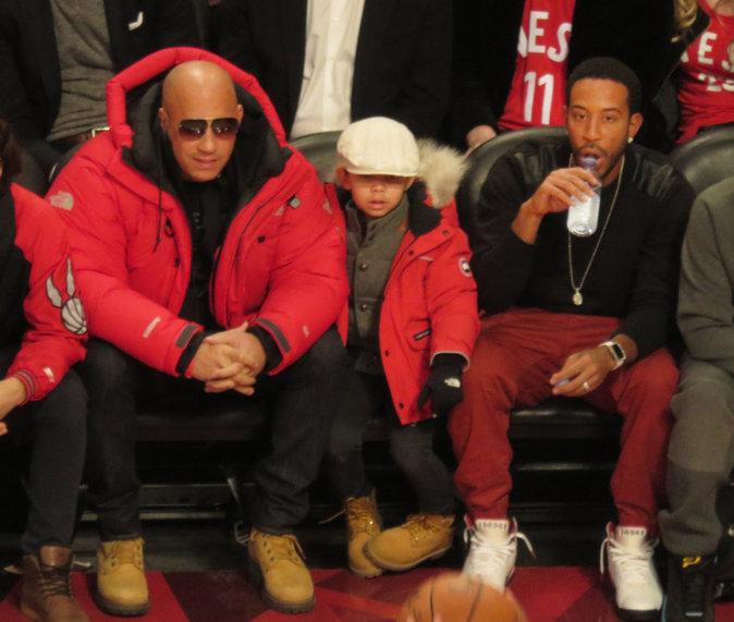 Vin Diesel, papa poule avec son fils Vincent Sinclair