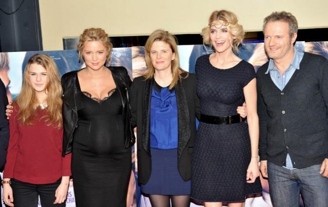 Virginie Efira et Alice Taglioni le 21 janvier 2013 à Paris