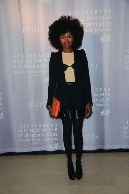 Inna Modja le 14 novembre 2012 à Paris