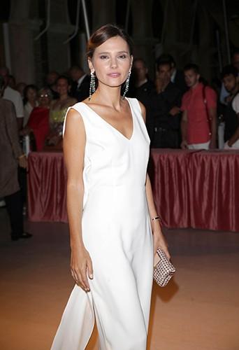 Vrginie Ledoyen à Venise le 28 août 2013