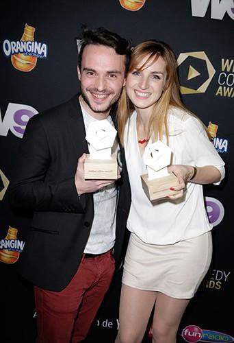 Jérôme Niel et Alison Wheeler à Paris le 21 mars 2014