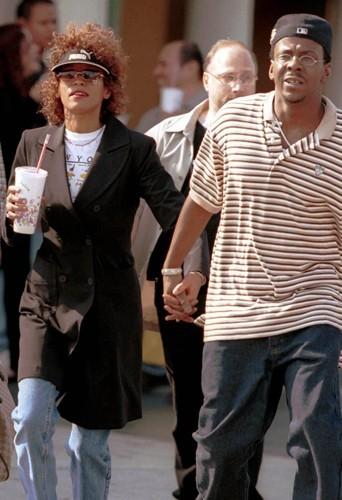 Le couple controversé en 2000, dans les rues de Melrose.