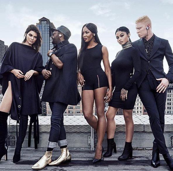 Will.i.am : pour son nouveau projet, il s'offre Kendall Jenner et Naomi Campbell !