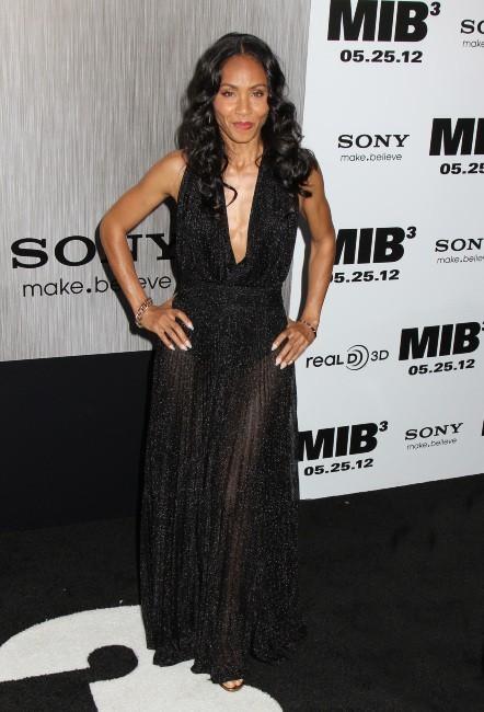 Jada Pinkett lors de la première new-yorkaise de MIB 3, le 23 mai 2012.