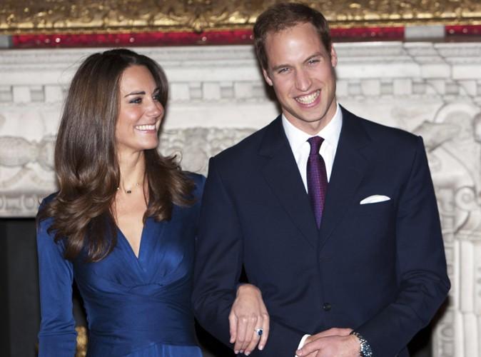 À l'annonce de leurs fiançailles en novembre 2010