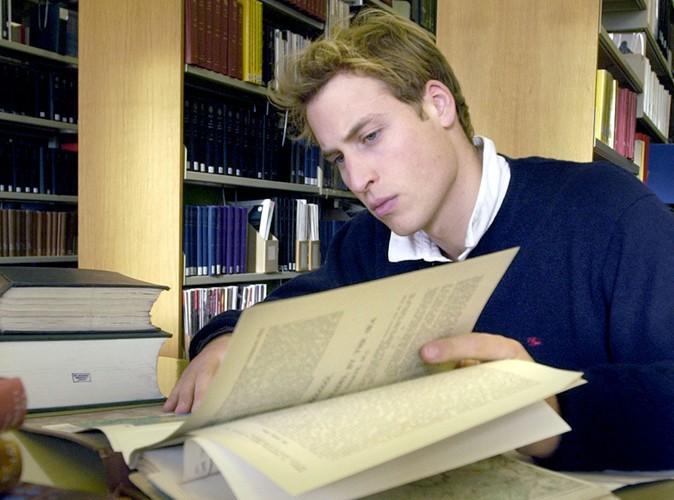 Le prince William à St. Andrews lors de sa dernière année d'étude, en 2004.