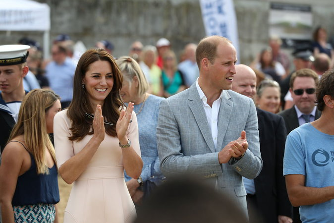 William et Kate à Truro, le 1er septembre 2016