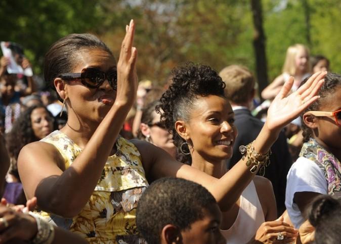 La first lady et Jada Pinkett-Smith ne sont pas les dernières à applaudir la petite prodige !