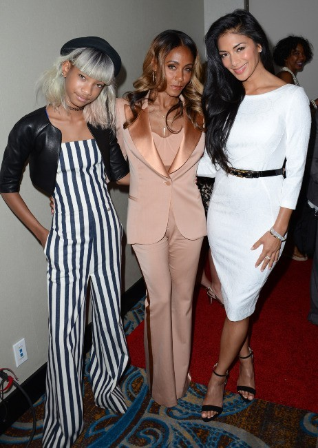 Willow Smith, Nicole Scherzinger et Jada Pinkett-Smith le 9 mai 2013 à Los Angeles