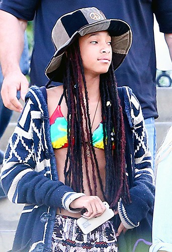 Willow Smith à Los Angeles le 9 mars 2014