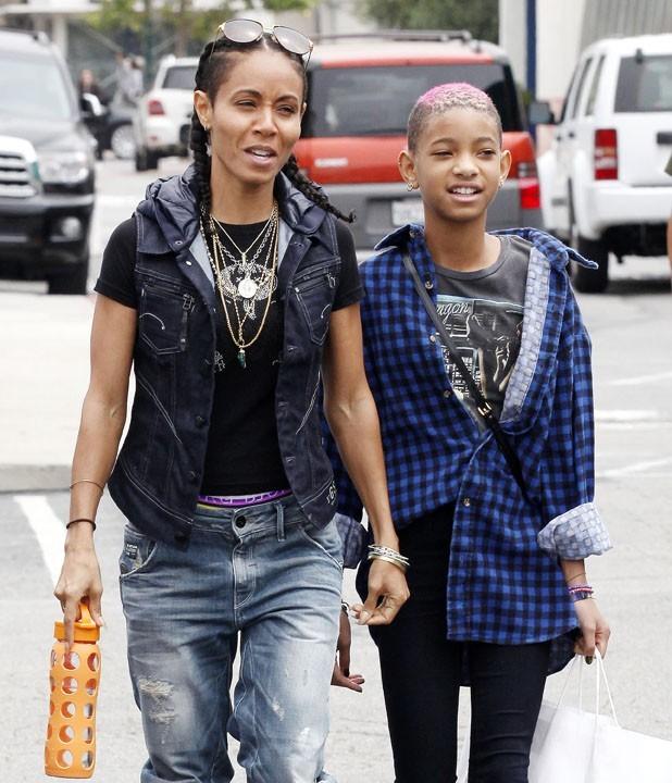 Jada Pinkett et sa fille Willow Smith...