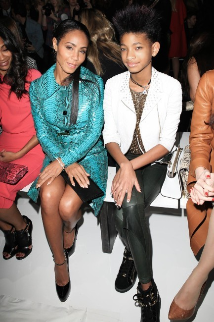 Jada Pinkett-Smith et Willow Smith le 13 février 2013 à New York