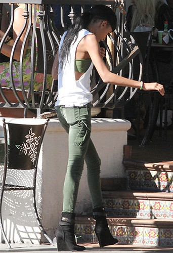 Willow Smith à Los Angeles le 1er novembre 2013