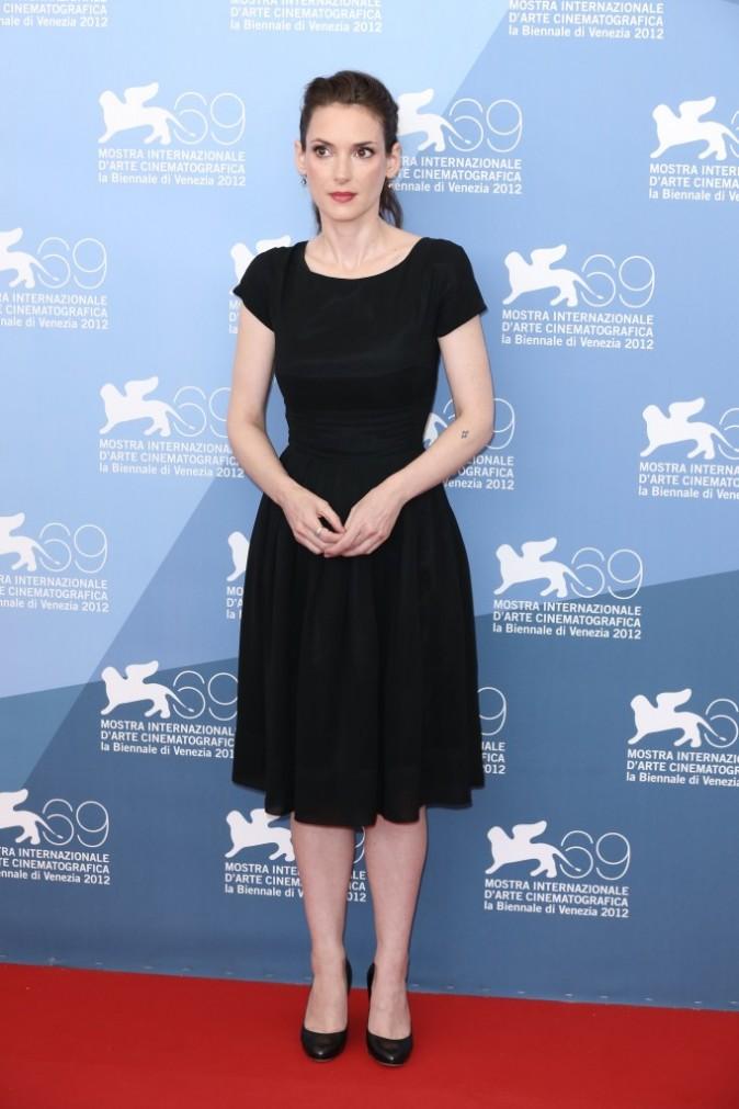 Winona Ryder à la Mostra de Venise