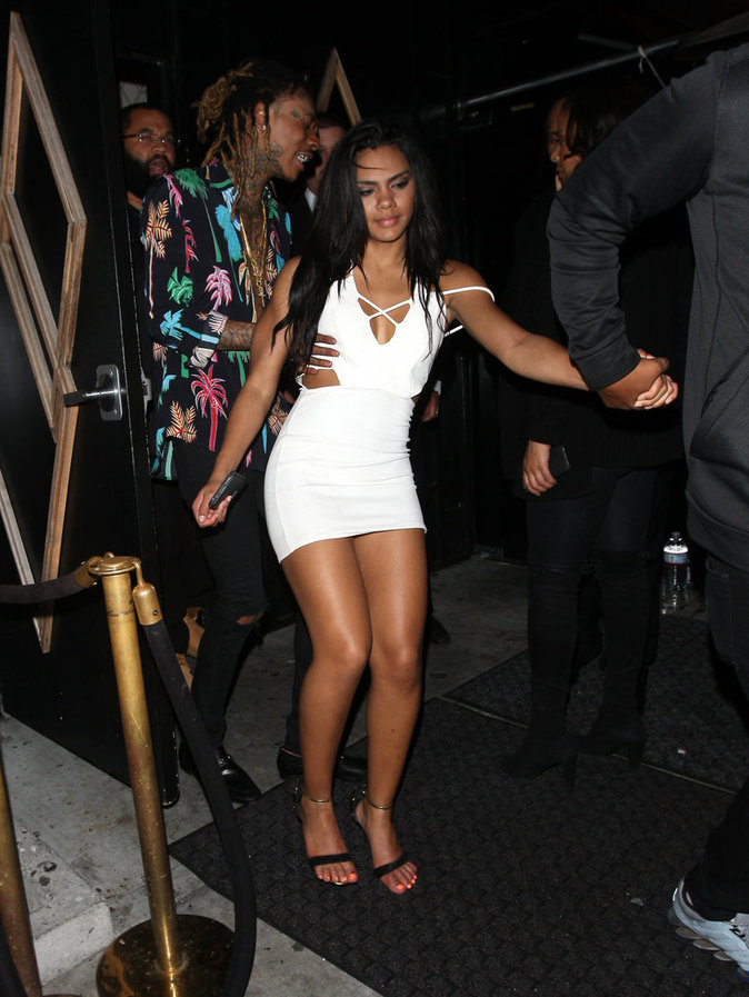 Wiz Khalifa : exit Amber Rose, il s'affiche avec une bimbo brune