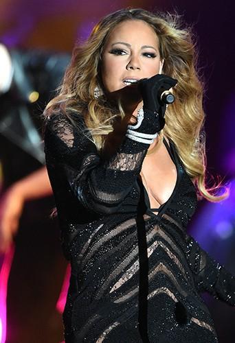 Mariah Carey à Monte-Carlo le 27 mai 2014